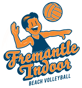 Fremantle Indoor Beach Volleyball Logo
