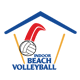 Indoor Beach Volleyball Federation Logo