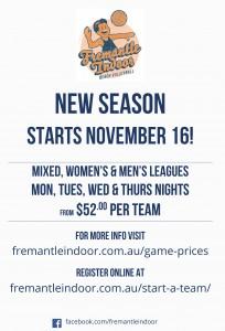 New season Nov 16